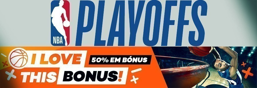I love this bonus da Bet.pt - até 10€ nos Playoffs NBA