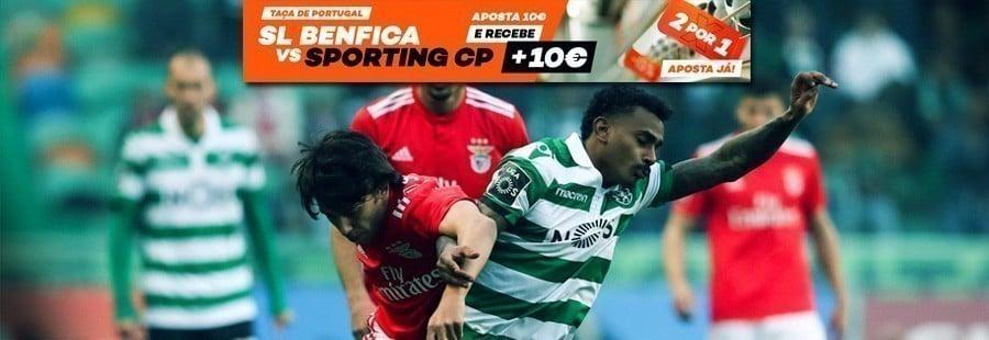 Taça de Portugal - 2 por 1 na Bet.pt!