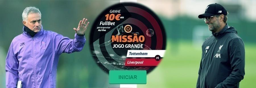 Betano: Promoção Jogo Grande Tottenham – Liverpool!