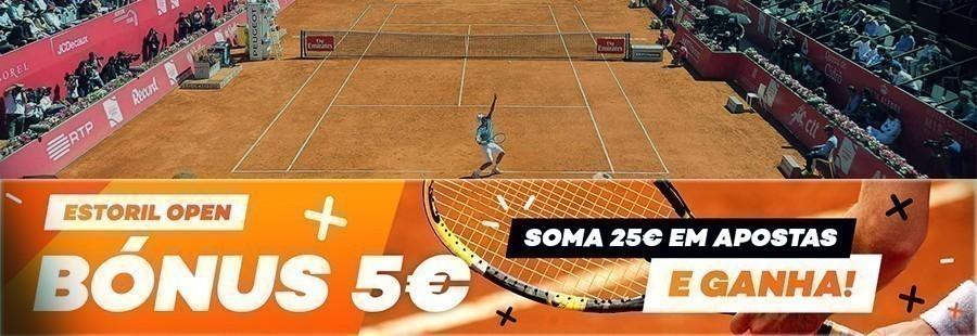 Estoril Open – Bónus de 5€ na BET.pt