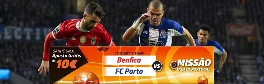 Betano Jogo grande: aposta grátis de 10€ no Benfica-Porto