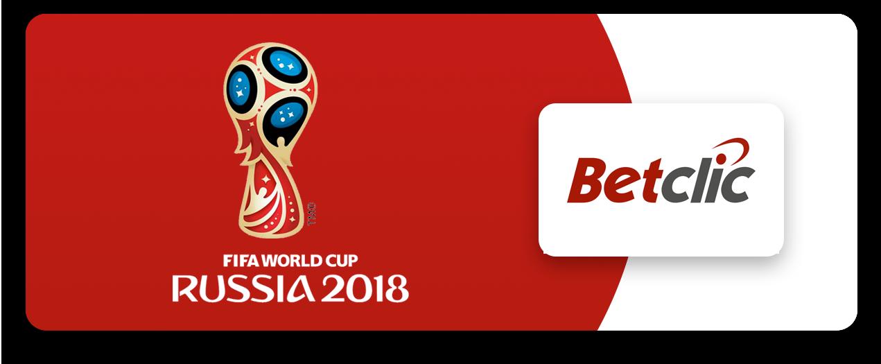 Casas de apostas Mundial 2018 - Betclic