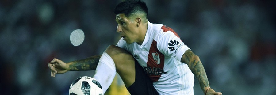 Enzo Pérez River Plate Conmebol Libertadores