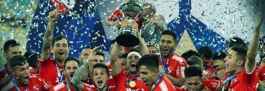 Independiente ganador de la Copa Sudamericana