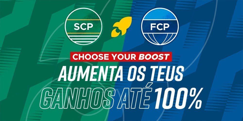 Choose your Boost no Sporting - FC Porto Na Sportytrader