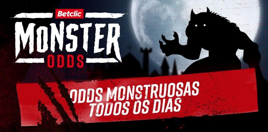 Promoção Odds Monstruosas Betclic: Um Halloween perfeito!