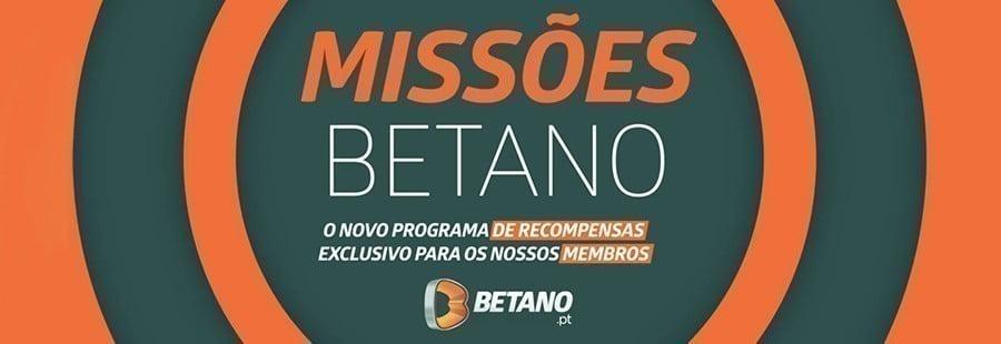 Missões Betano.pt