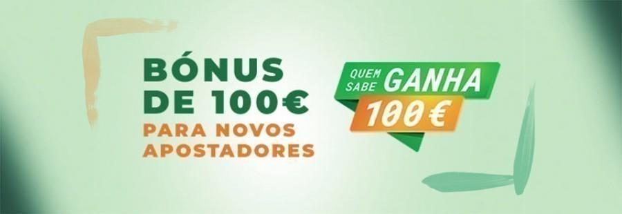 Bónus de 100€ Nossa Aposta
