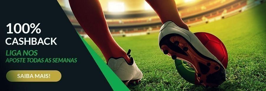 ESC online: Liga NOS 100% Cashback!