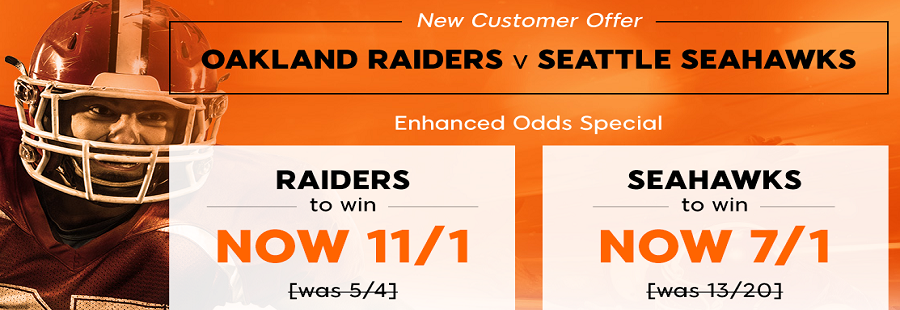 nfl enhanced odds