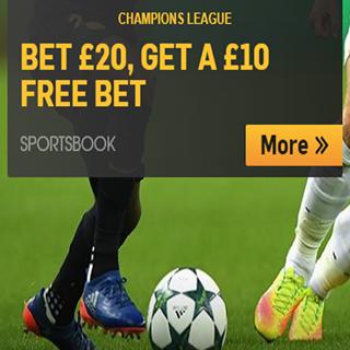 Betfair Champions League Free Bet Offer