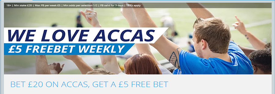 Acca Free Bet
