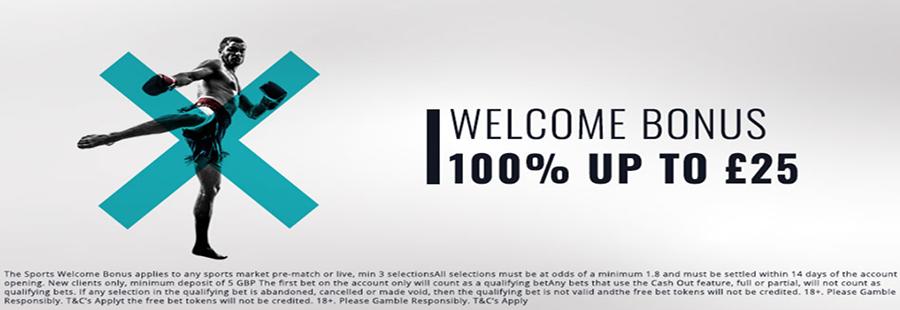 VBet Welcome Bonus