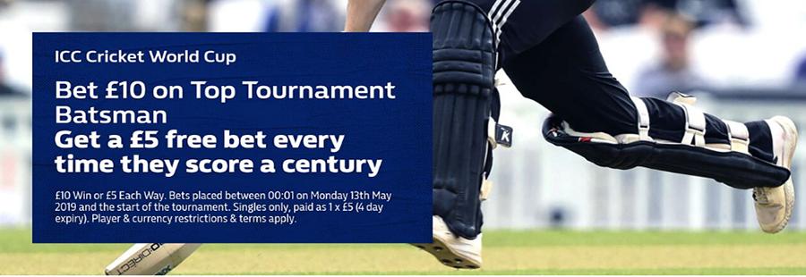 William Hill Cricket World Cup Promo