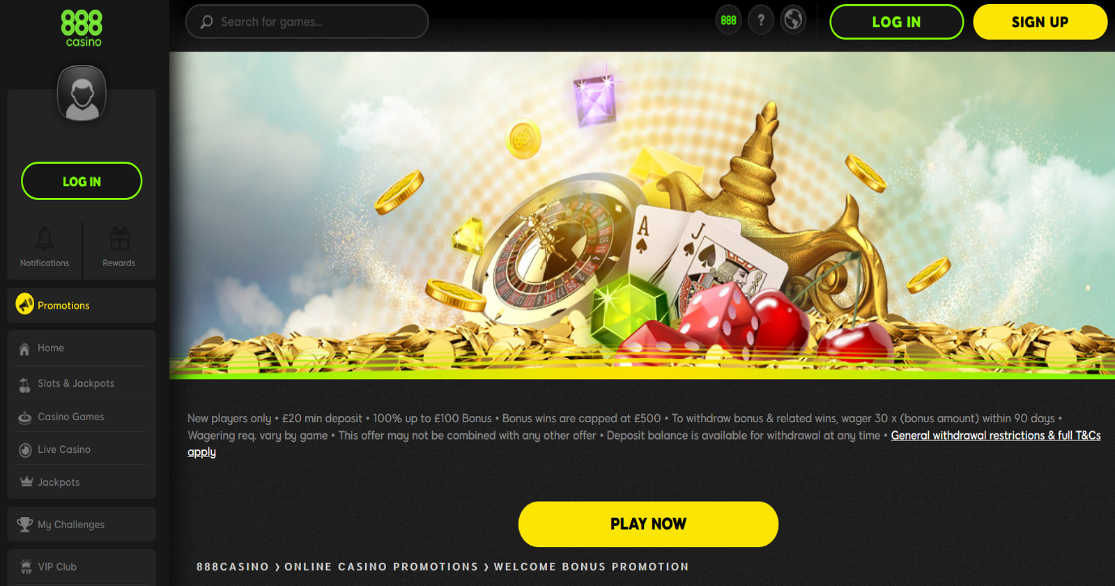 888casino-welcome-offer