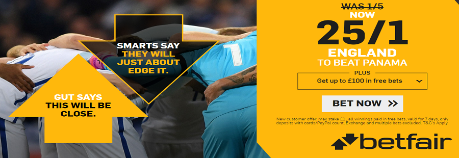 betfair england offer