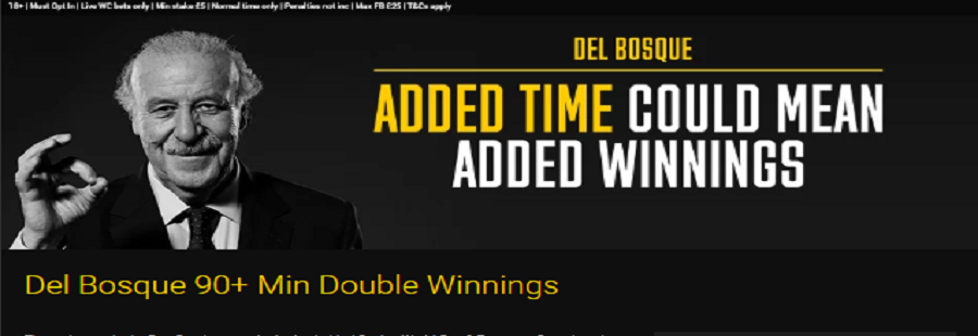 bwin added time