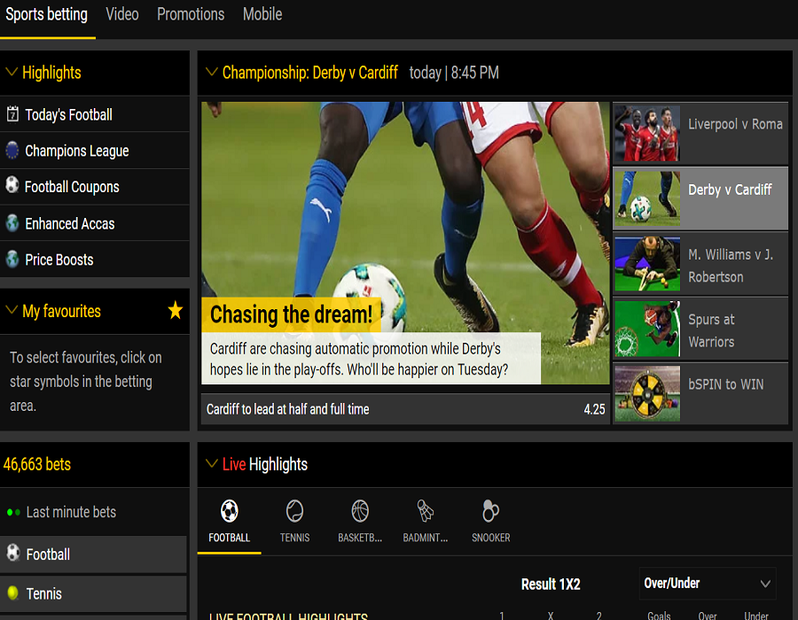 discover bwin
