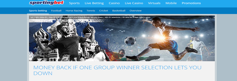 sportingbet group insurance