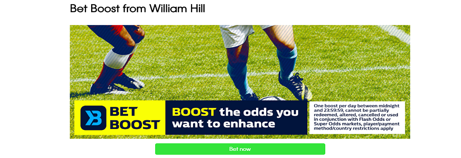 william hill best boost