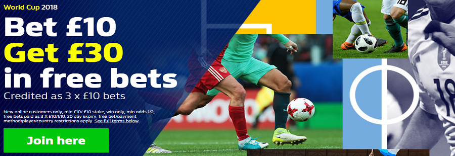 william hill sign up offer world cup