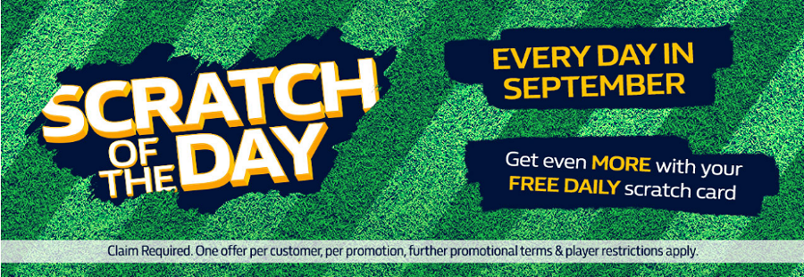 william hill scratch of the day promotion