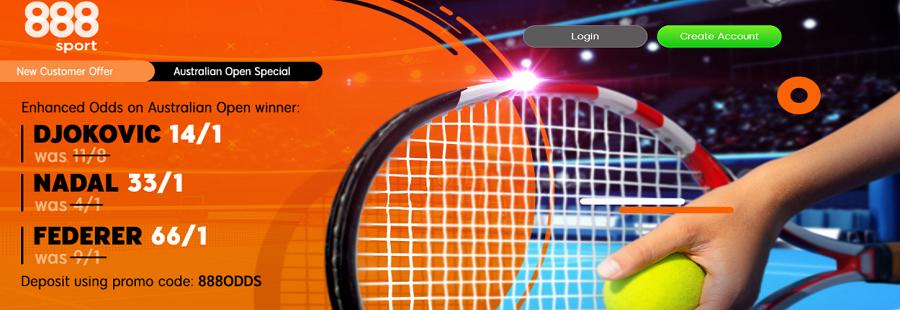 888sport australian open promotion