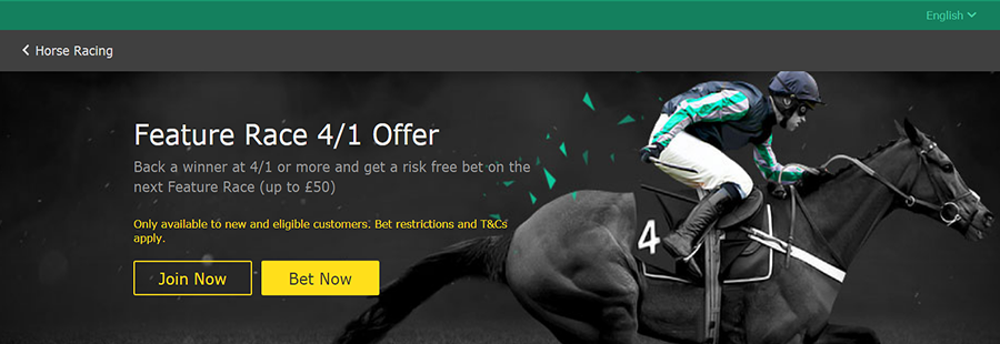 Bet365 Feature Race Offer