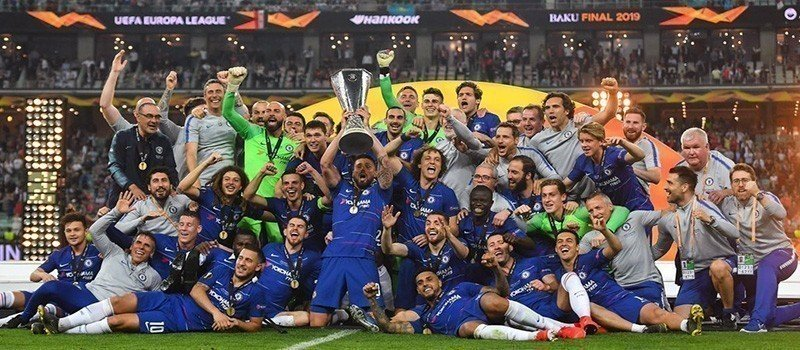 europa league winners 2019 - chelsea
