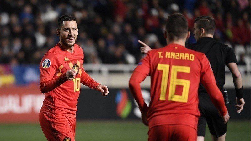 Bélgica - Eurocopa 2020 equipos favoritos