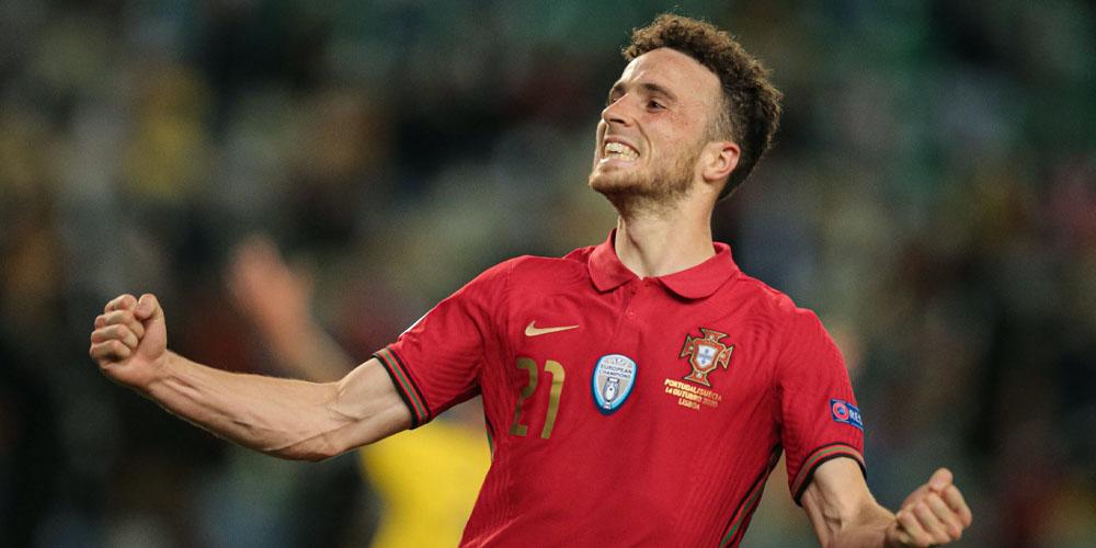 Diogo Jota melhor marcador do Euro 2020?
