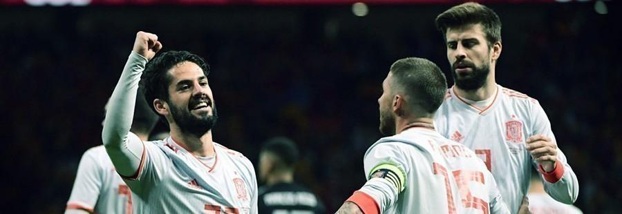 Quote Spagna Mondiali 2018